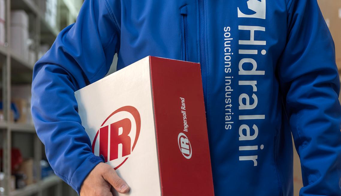 Hidralair és distribuïdor de Ingersoll Rand
